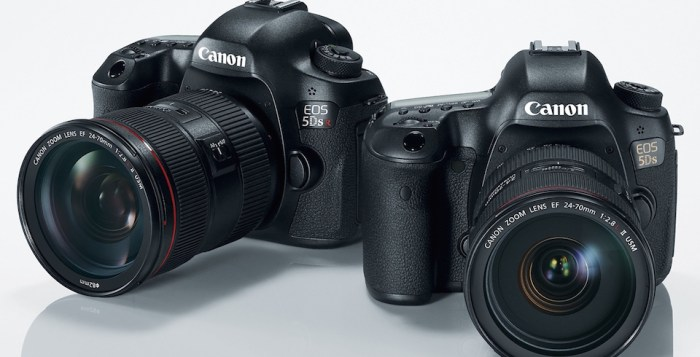 Canon's new 5DS and 5DS R (photo: Google Images)