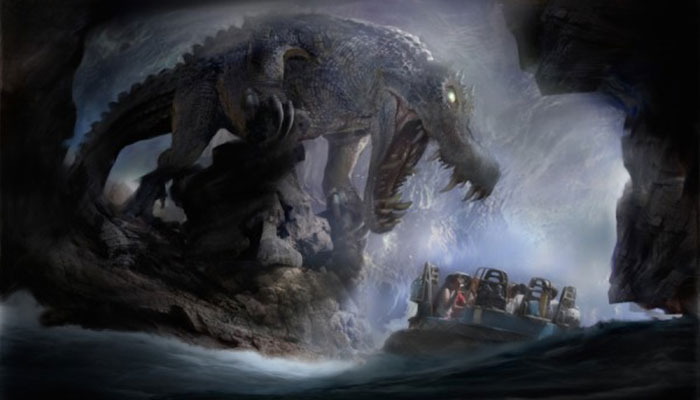 Roaring Rapids at Shanghai Disneyland