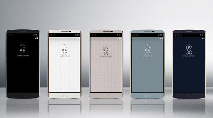 Different colour of the LG V10
