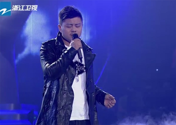 Huang Yong in The Voice of China 4 Episode 12