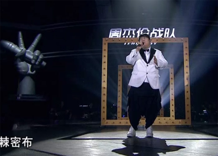 Leon Lee in The Voice of China 4 Episode 12