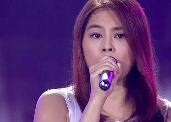 Li Xin Ni in The Voice of China 4 Episode 12