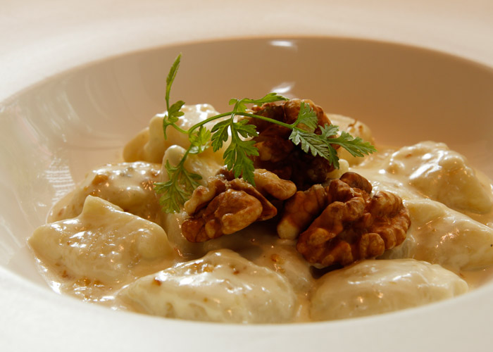 Gnocchi with Gorgonzola and Walnuts at PerBacco