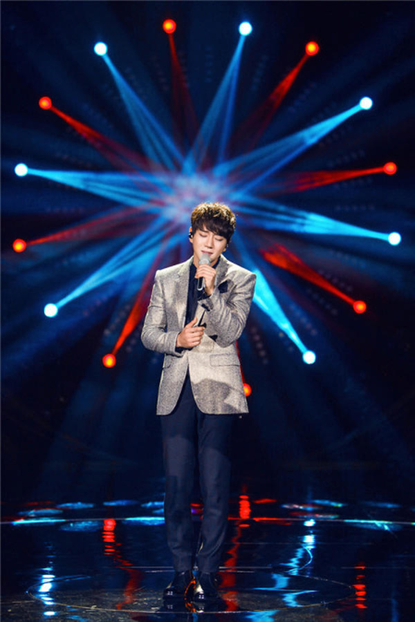 Hwang Chi Yeol in I Am A Singer 4 Round 2