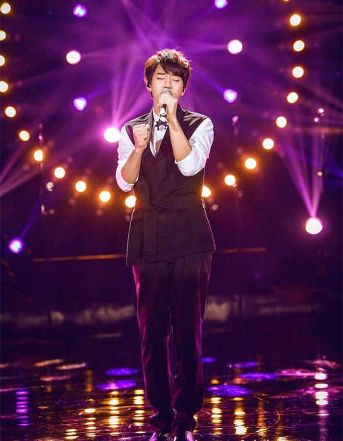 Hwang Chi Yeol in I Am A Singer 4 Round 5