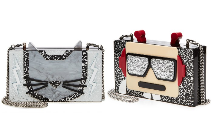 Minaudiere in Karl and Choupette designs