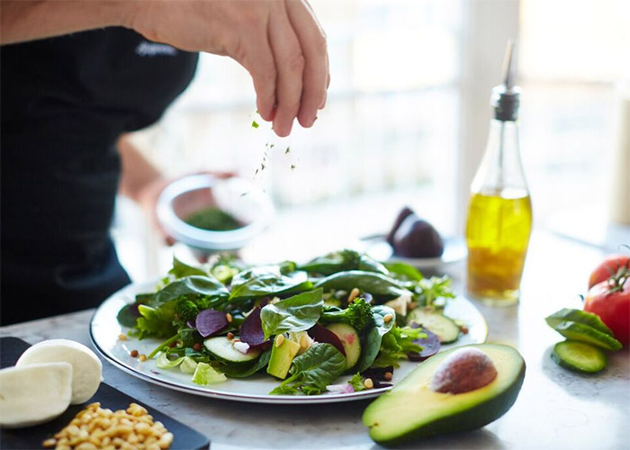 Superfood Salad from PizzaExpress