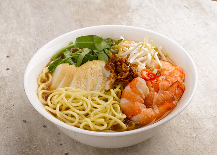 Kang Kang Express Meal Kit, Prawn Mee Soup