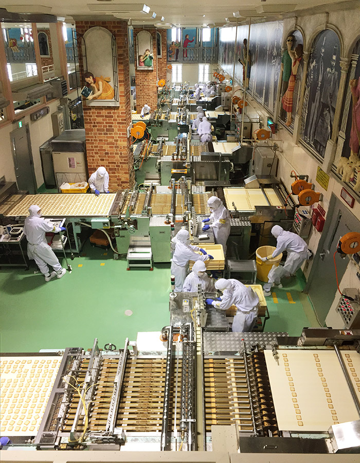 Shiroi Koibito production line