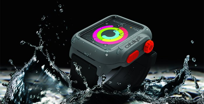 Catalyst's water and impact proof Apple Watch case
