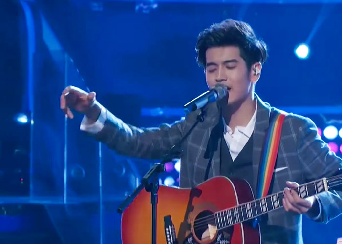 Nathan Hartono on episode 10 of Sing China 2016
