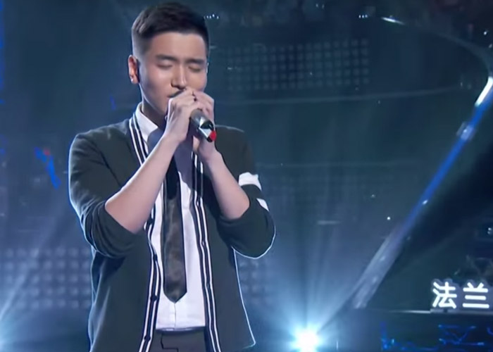 Zheng Jia Wen on episode 6 of Sing! China
