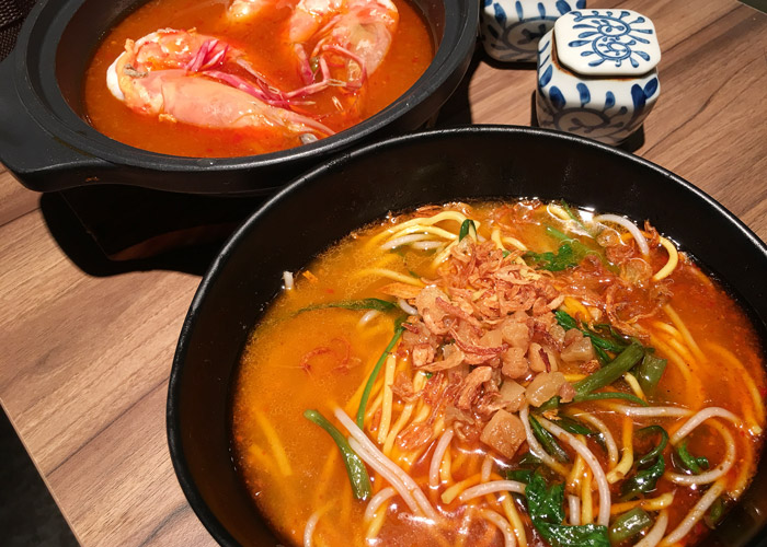 wah kee big prawn noodles - dry set