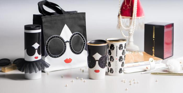 alice + olivia Starbucks set
