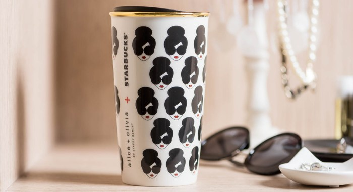 alice + olivia + Starbucks® Double Walled Mug
