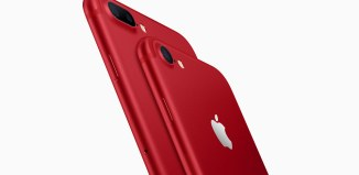 iPhone 7 and iPhone 7 Plus in RED