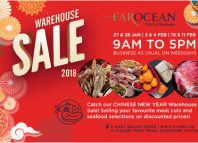Far Ocean frozen seafood and meat sale