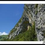 La falaise de Génat (Ariège – Vicdessos)