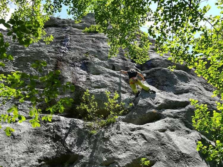 GC- falaise de Péreille Ariège - mai 2018 (1)