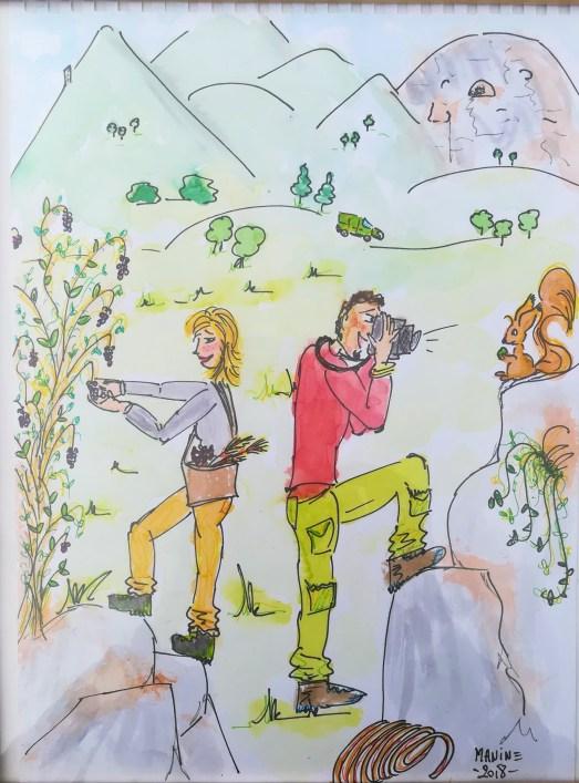 GC-portrait grimpeurs cueilleurs - octobre 2018 - Manine
