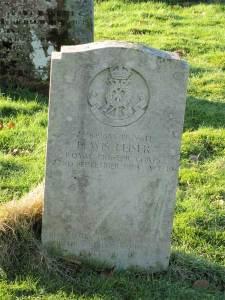 Pte. Lewis Leiser grave stone