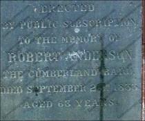 Robert Anderson - The Cumberland Bard