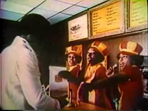 1974 Burger King ads offer a study in contrasts