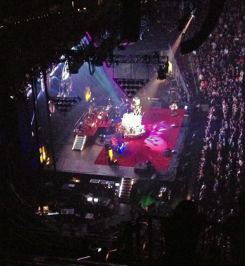 Rush at the Prudential Center (Newark, NJ), 10/20/12