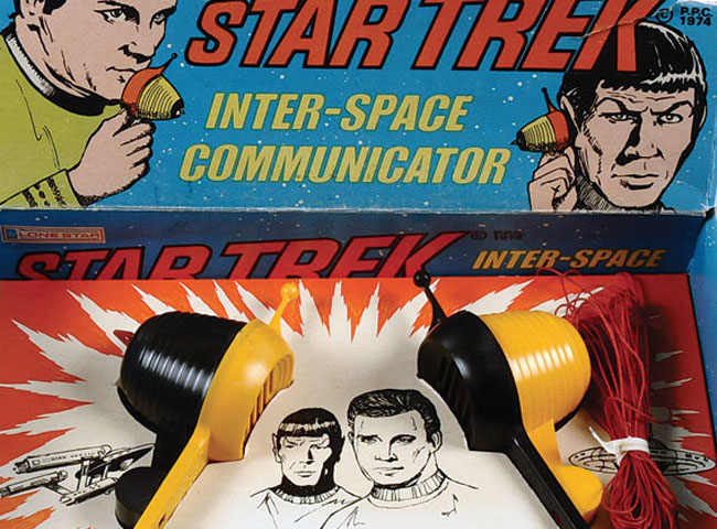 Vintage Toys: 1970s Star Trek Inter-Space Communicator
