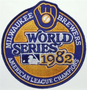 Milwaukee Brewers 1982 World Series patch