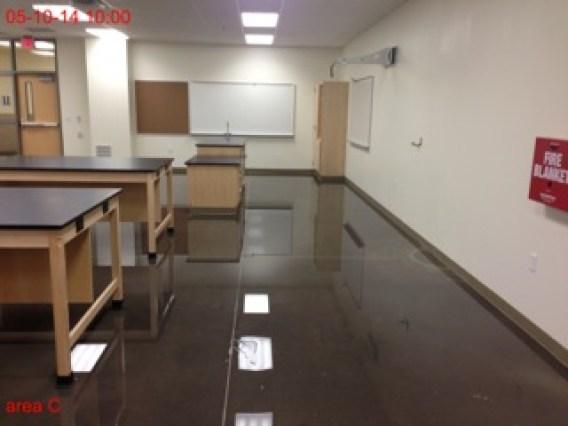 Denison High School Flood
