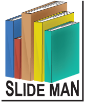 Slide Man Logo