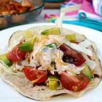 Cajun Shrimp Tacos 5