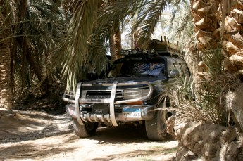 <strong> One of Toyota Landcruisers we use for Desert Trips </strong>