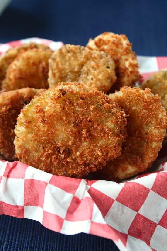 fried pickles fried pickles with spicy remoulade fried pickles with ...