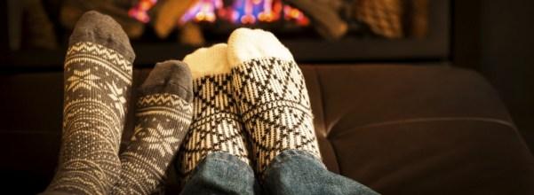 Fireplace - emits the cozy