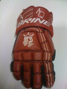 Aquinas College Saints lacrosse gloves