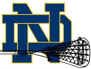 Notre Dame Fighting Irish Lacrosse Logo