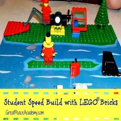 Homeschool Co-op with LEGO Bricks