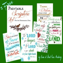 Printables Scripture Art for Homemakers   Great Peace Academy