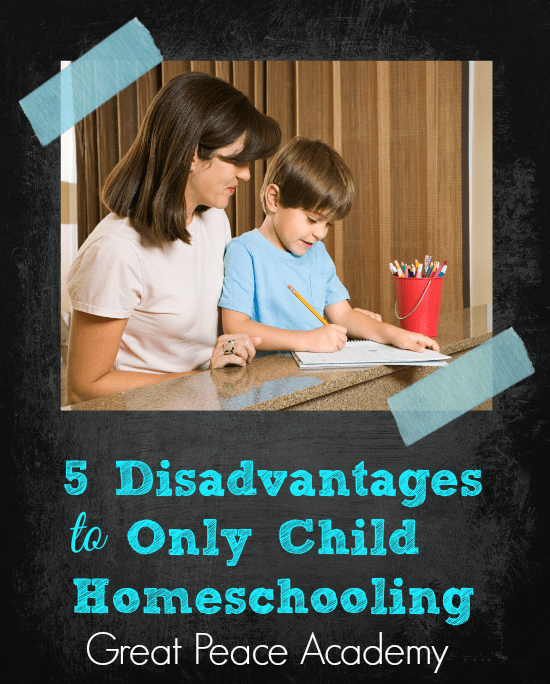 disadvantages of homeschooling It is easy to get lost in the exciting idea of homeschooling your children, but remember - it's equally as important to look at the disadvantages of such an arrangement as it is to consider the advantages.