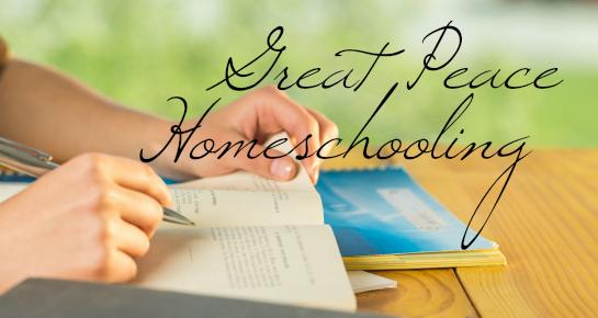 Great Peace Homeschooling   GreatPeaceAcademy.com