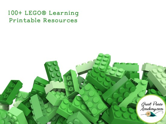 The BEST 100+ LEGO Learning Printable Resources on the Web | Great Peace Academy