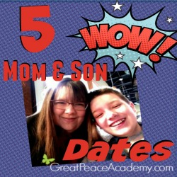 5 Mother and Son Dates   Great Peace Academy