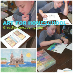 Because you Need to Teach Art in Homeschool
