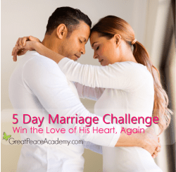 5 Day Marriage Challenge   Marriage Moments at Great Peace Academy