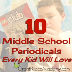 10 Middle School Periodicals every Kid will Love