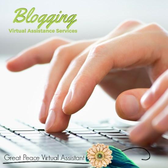 Virtual Assistant Blogging Services | GreatPeaceAcademy.com