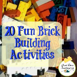20 Fun Brick Building Activities | GreatPeaceAcademy.com #LEGO