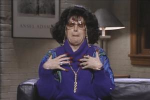 Linda Richman is a little Verklempt